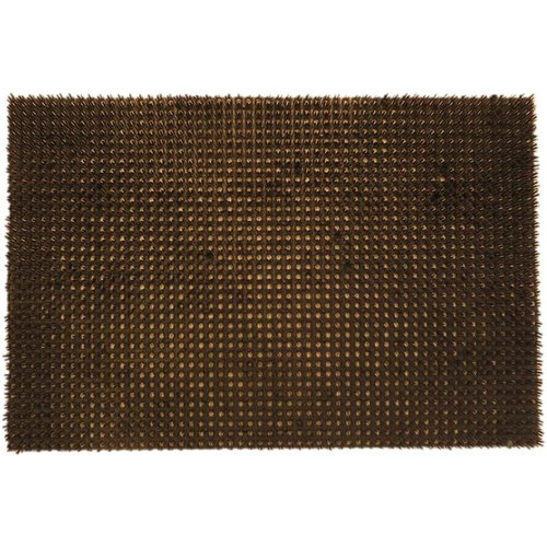 Schrapende grasmat bruin