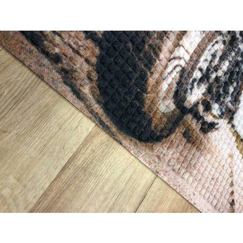 Gepersonaliseerde professionele schrapende en absorberende mat voor binnen