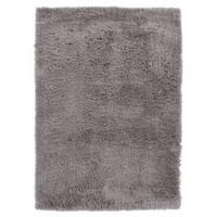 Hoogpolig vloerkleed in polyester mix  taupe