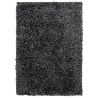 Hoogpolig tapijt in polyester mix  antraciet