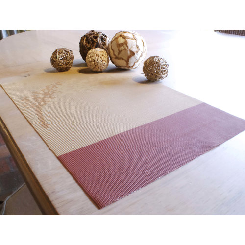 Placemat, dessin in roesttinten