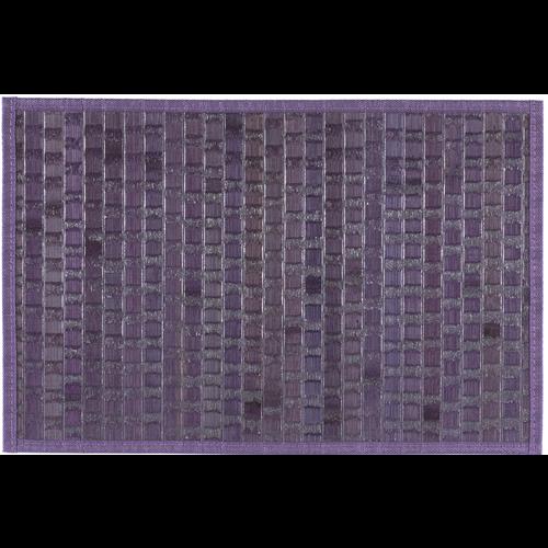 Bamboe placemat met structuur, paars