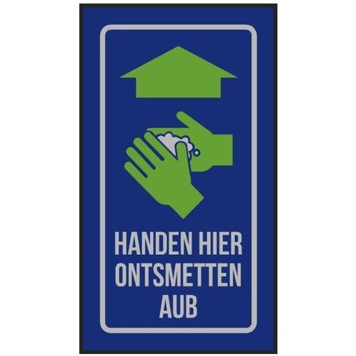 Professionele COVID droogloopmat voor binnen, handen wassen - Copy
