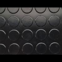 Rubberen loper op maat met noppen, 3mm