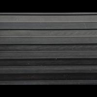 Rubberen loper op maat met breedrib, 4mm