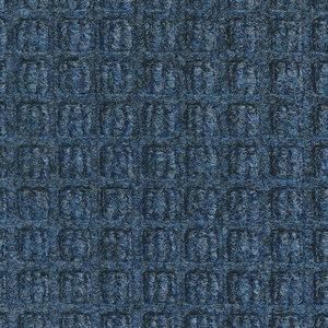 Professionele schrapende en absorberende mat voor binnen, blauw