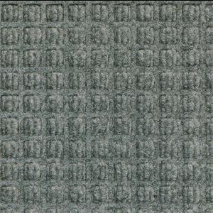 Professionele schrapende en absorberende mat voor binnen, grijs