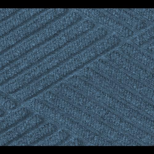 Professionele schrapende en absorberende mat met diamant patroon voor binnen, blauw