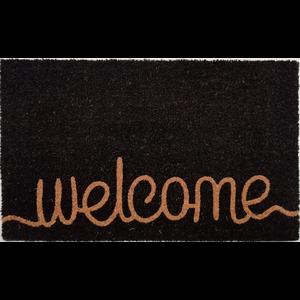 Kokosmat met opdruk Welcome