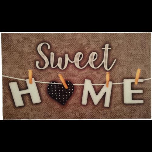 Deurmat sweet home