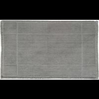 Katoenen badmat antislip, grijs