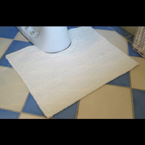 WC mat antislip, wit