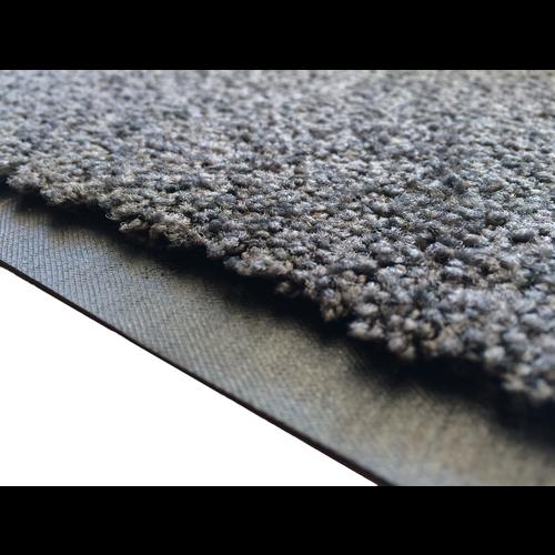 Droogloopmat op maat grijs 118cm ecologisch