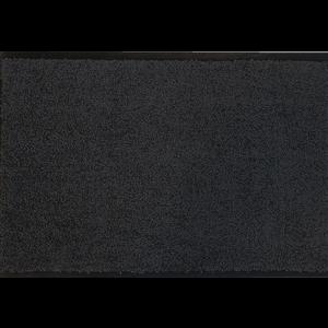 Droogloopmat op maat zwart 118cm ecologisch