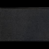 Droogloopmat op maat zwart 88cm ecologisch