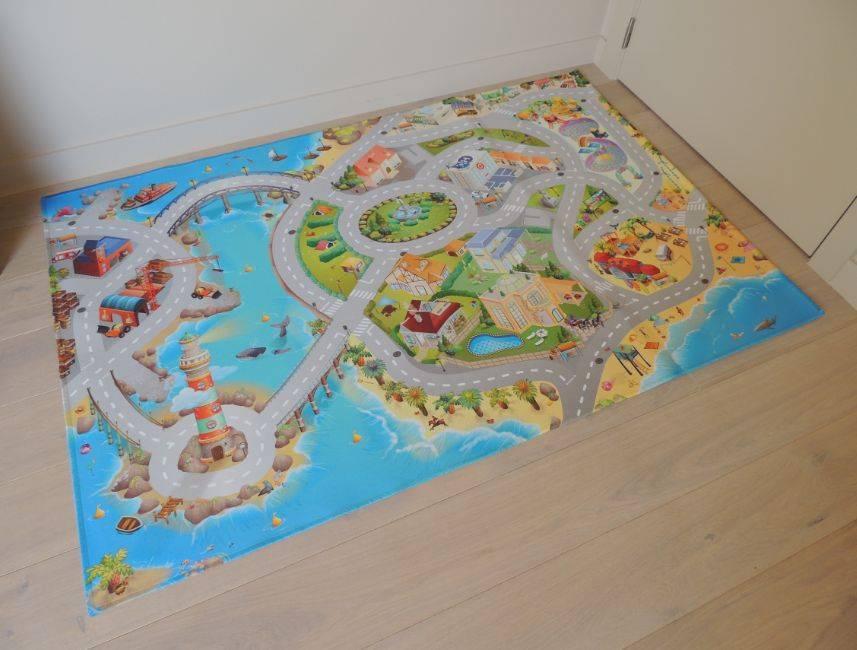 Een speeltapijt maakt spelen in huis nog leuker!