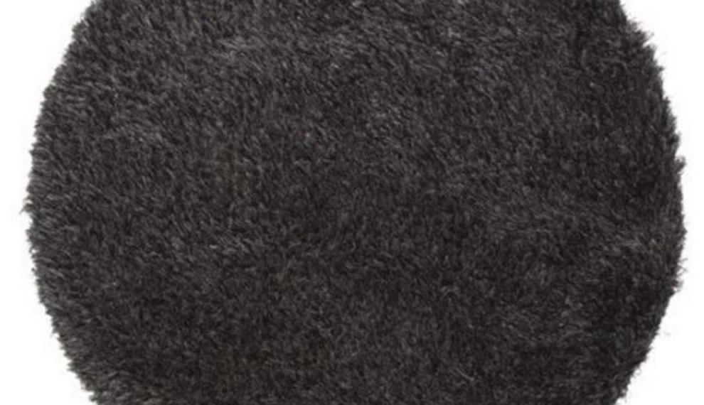 Een rond tapijt, klein, maar o zo handig!