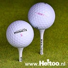 Gebruikte golfballen