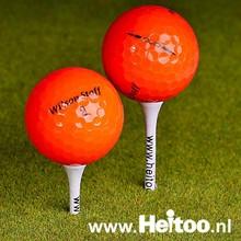 Wilson Staff DUO / DX2 SOFT (oranje) AAAA kwaliteit