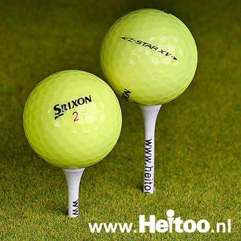 Gebruikte Srixon Z-Star X en XV (geel) AAA kwaliteit