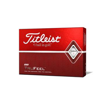 Bedrukte Titleist TruFeel (wit)