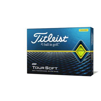 Bedrukte Titleist Tour Soft (geel)