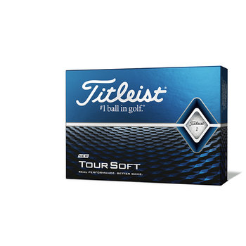 Bedrukte Titleist Tour Soft (wit)
