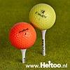 Gekleurde golfballen Budget A/AA kwaliteit gekleurd (trainingsgolfballen)