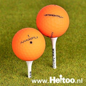 Maxfl Softfli (matt oranje ) AAA/AAAA kwaliteit