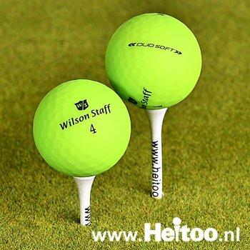 Gebruikte Wilson Staff DUO SOFT / Optix (matt groen) AAA/AAAA kwaliteit