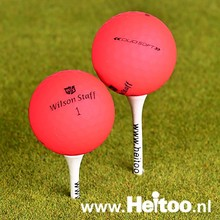 Wilson Staff DUO SOFT (matt roze) AAA/AAAA kwaliteit