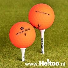 Wilson Staff DUO SOFT / Optix (matt oranje) AAA/AAAA kwaliteit