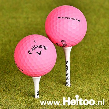 Callaway Supersoft (matt roze) AAA/AAAA kwaliteit