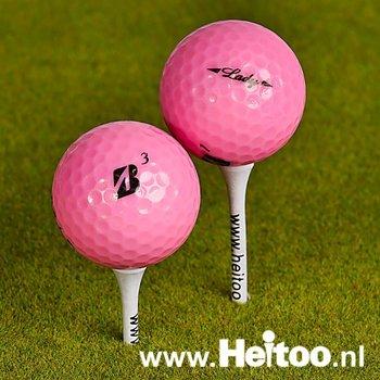Gebruikte Bridgestone  Lady (roze) AAA/AAAA kwaliteit