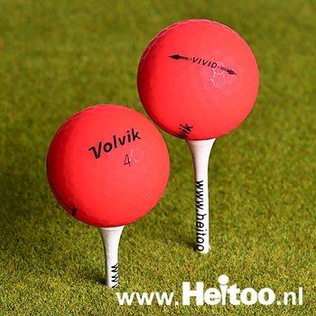 Gebruikte Volvik VIVID (rood) AAA/AAAA kwaliteit