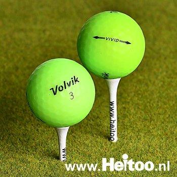 Gebruikte Volvik VIVID (groen) AAA/AAAA kwaliteit