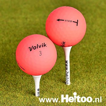 Gebruikte Volvik VIVID (roze) AAA/AAAA kwaliteit
