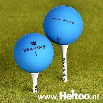 Gebruikte Wilson Staff DUO SOFT / Optix (matt blauw) AAA/AAAA kwaliteit