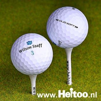 Gebruikte Wilson Staff DUO SOFT (wit) AAA/AAAA kwaliteit