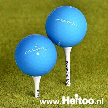 Maxfli Softfli (blauw matt gekleurd ) AAA/AAAA kwaliteit