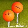 Maxfli Straightfli (matt oranje) AAA/AAAA kwaliteit