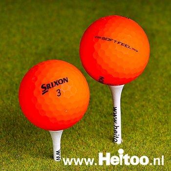 Gebruikte Srixon Soft Feel (matt oranje) AAA/AAAA