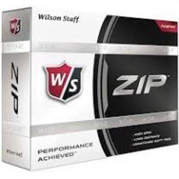 Bedrukte Wilson Staff ZIP (wit)