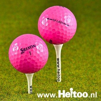 Gebruikte Srixon Soft Feel Lady (roze) AAA/AAAA kwaliteit