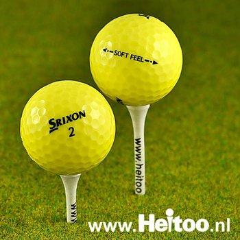 Gebruikte Srixon Soft Feel (geel) AAA/AAAA kwaliteit