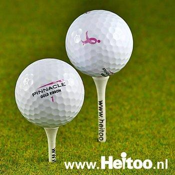 Gebruikte Pinnacle Lady golfballen (wit) AAAA kwaliteit