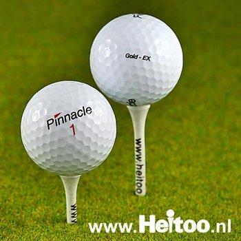 Gebruikte Pinnacle Mix golfballen AAA kwaliteit