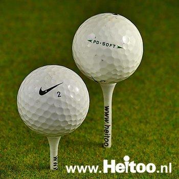 Gebruikte Nike mix AA kwaliteit (trainingsgolfballen)