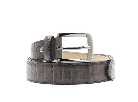 REHAB RIEM CROCO DARK GREY