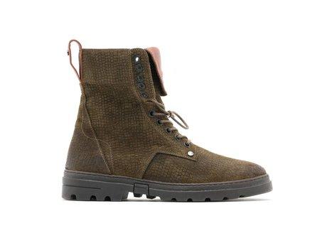 Darcey Vintage Suede | Hoge khaki boots
